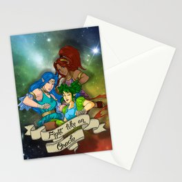 Fight Like An Oracle Stationery Cards