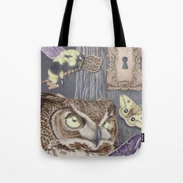 Keepers of Forbidden Knowledge Tote Bag