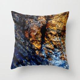 Blue Tears Throw Pillow