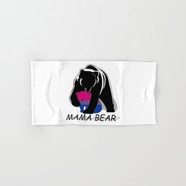 Mama Bear Bisexual Hand & Bath Towel