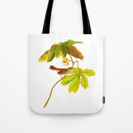 Swamp Sparrow Tote Bag