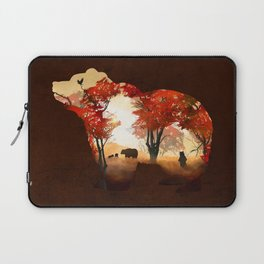 Bears in the Woods Laptop Sleeve