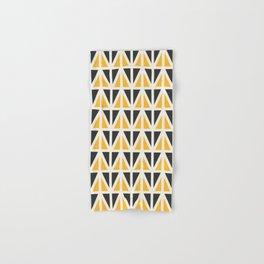 Sunny Triangles Hand & Bath Towel