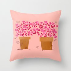We've Grown So Much Together Throw Pillow