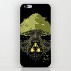 Deku Tree Full Colour iPhone & iPod Skin
