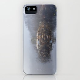 Foggy morning at the Quarry iPhone Case
