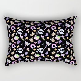Star vs the Forces of Evil Pattern ( black ) Rectangular Pillow