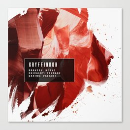 Gryffindor Nature Canvas Print