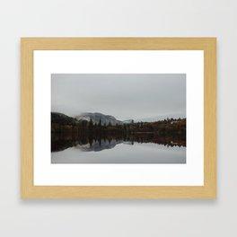 Reflection. Scotland. Framed Art Print