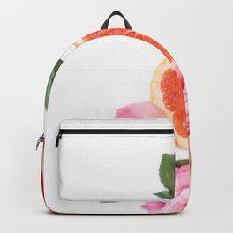 Grapefruit & Roses 04 Backpack