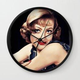 Joan Crawford, Movie Legend Wall Clock