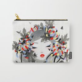 Chrysanthemum Mood Carry-All Pouch