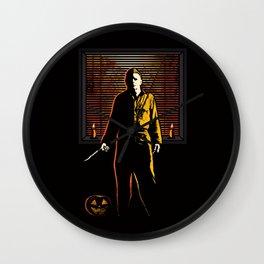 Live In Fear Wall Clock