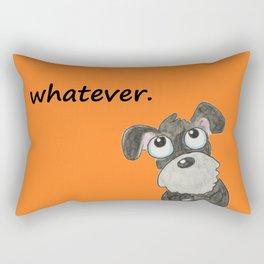 Couldn't care less Rectangular Pillow