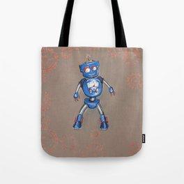 Robot Gauge Tote Bag