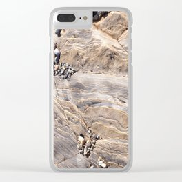 Rock Patterns Clear iPhone Case