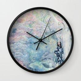 """Abundant Spring"" 'In the Garden' Series Wall Clock"