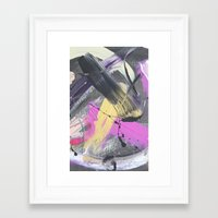 fireworks Framed Art Prints featuring Fireworks by MADE BY GIRL