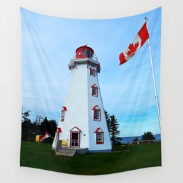 Lighthouse Panmure Island Wall Tapestry