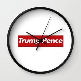 Trump Pence Wall Clock