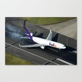 FedEx smokin' on arrival Canvas Print