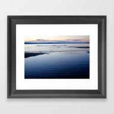Lake Champlain Framed Art Print