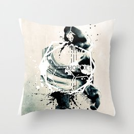 A day different than usual. Throw Pillow