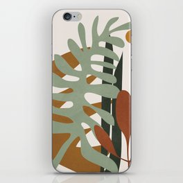 Abstract Plant Life III iPhone Skin