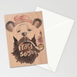 Beard Seasn Stationery Cards