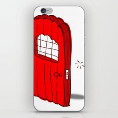 The Mediocre Entrance of Something Invisible iPhone & iPod Skin