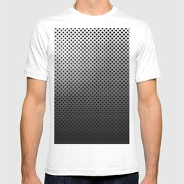 Metal Dotted Silver T-shirt