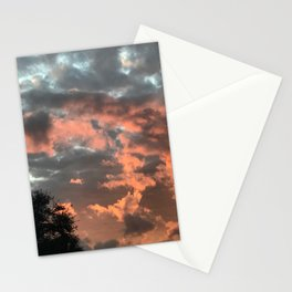 Glowing Clouds Stationery Cards