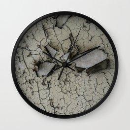 Peeling Paint Wall Clock