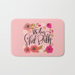 Pretty Swe*ry: Holy Shit Balls Bath Mat