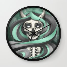 Lady Hades Wall Clock