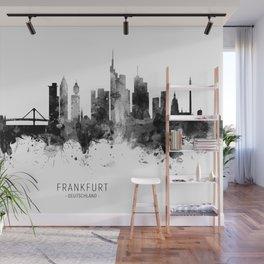 Frankfurt Germany Skyline Wall Mural