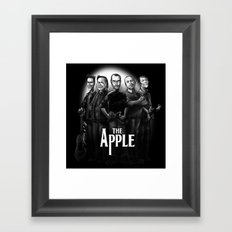 The Apple Band Framed Art Print