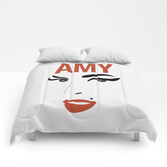 Amy Back to Black Comforters