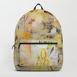 Nothing grows without love Backpack