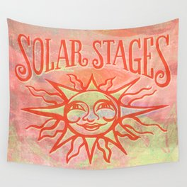 Solar Stages Logo Wall Tapestry