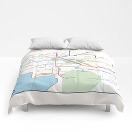 Beleriand Routemap Comforters