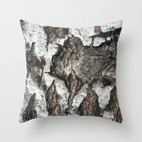 birch Throw Pillows featuring Birch by Sproot