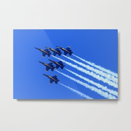 6 Angels Metal Print