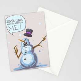 Where's Samta Claws?! Stationery Cards
