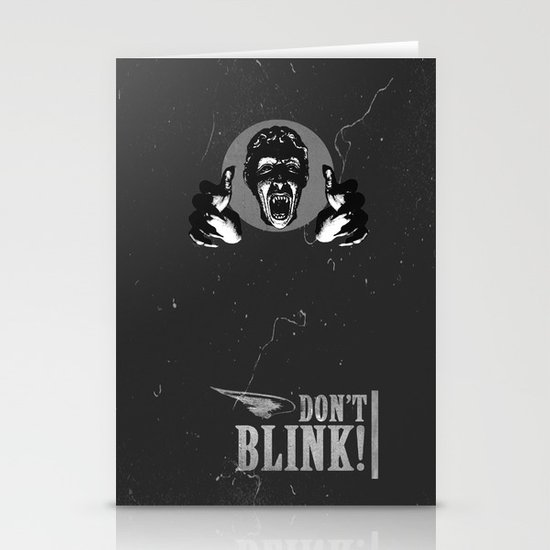 Doctor Who: Weeping Angel Stationery Cards