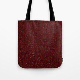 Antique Texture Garnet Tote Bag
