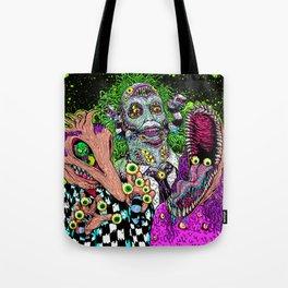 Ghost Monsters Tote Bag