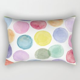 impulsive dots Rectangular Pillow