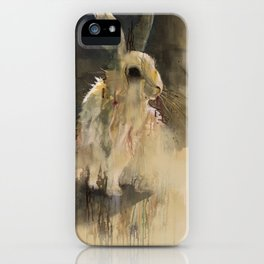 Undead Rabbit iPhone Case