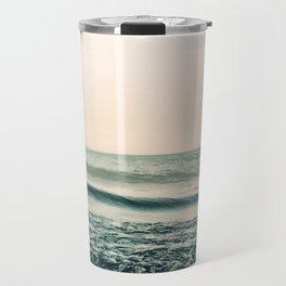 Turquoise Morning Travel Mug